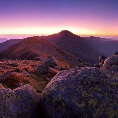 Carpathian Mountains Dawn