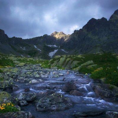 Storm over High Tatras