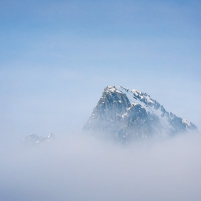 Peak Above Clouds